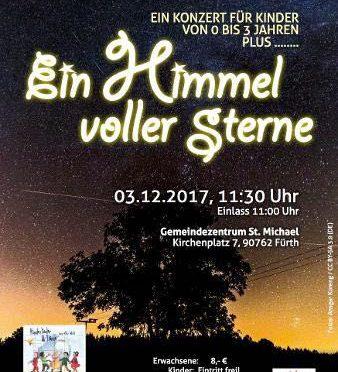 Veranstaltungshinweis: Ein Himmel voller Sterne in St. Michael Fürth